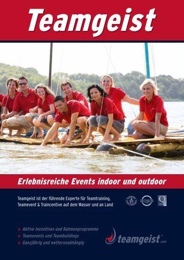 Erlebnisreiche Events indoor und outdoor - Teamgeist