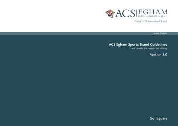 ACS Egham Sports Logos - ACS International Schools