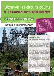 Actes - Réseau Rural Français