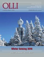 Winter Catalog 2016