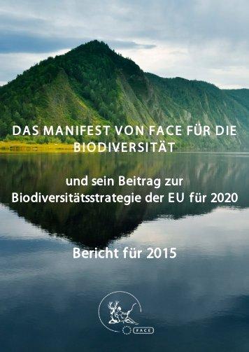 Bericht für 2015