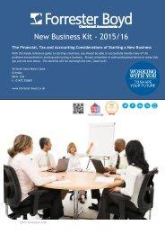 New Business Kit - 2015/16