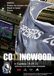 Untitled - Collingwood Football Club