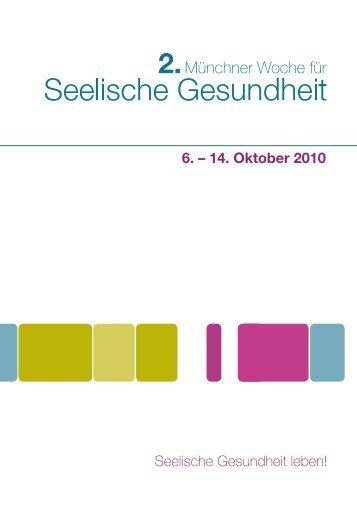 Oktober - Münchner Woche für Seelische Gesundheit