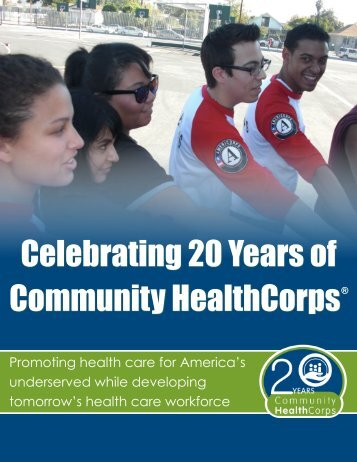 Celebrating 20 Years of Community HealthCorps