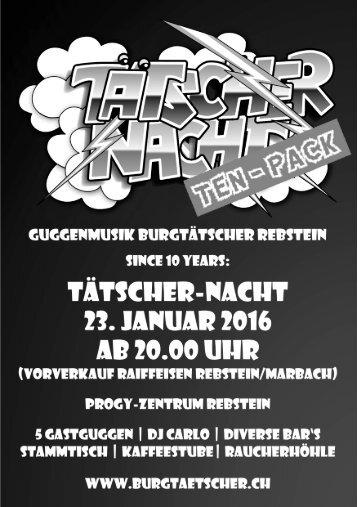 Tätscher-Nacht (TEN-PACK)