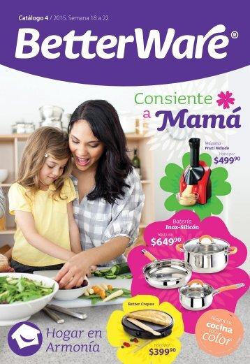 Catálogo de productos 04 / 2015