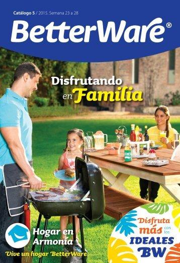Catálogo de productos 05 / 2015