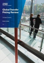 Global Transfer Pricing Review