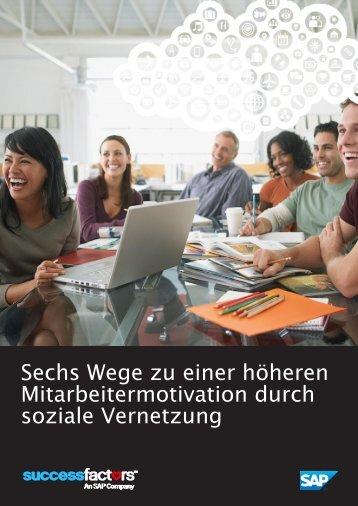 Sechs Wege zu einer höheren Mitarbeitermotivation durch soziale Vernetzung