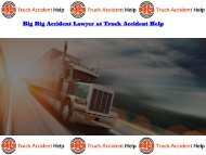 Big Rig Accident Lawyer