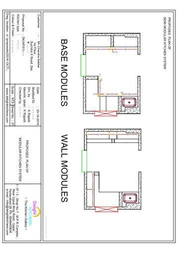 2D Kitchen Floor Plan(1)
