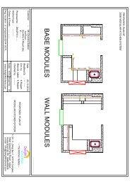 2D Kitchen Floor Plan