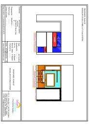 2D STUDY TABEL & T.V Uint Plan