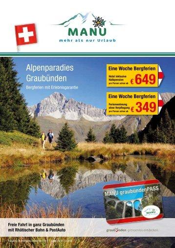 MANU Touristik Katalog 2016