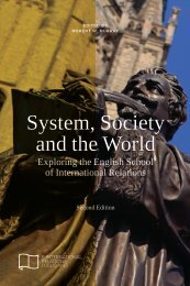 System Society and the World