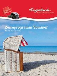 Engeloch Reiseprogramm Sommer