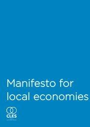 Manifesto for local economies