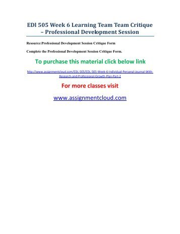 edd 581 week 3 learning team Studentehelp online tutorial store provides verified str 581 week 3 learning team peer evaluation for university of phoenix students at best prices.