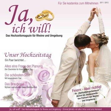 Unser Hochzeitstag - Ja, ich will