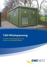 TAB Mittelspannung - EWE NETZ GmbH