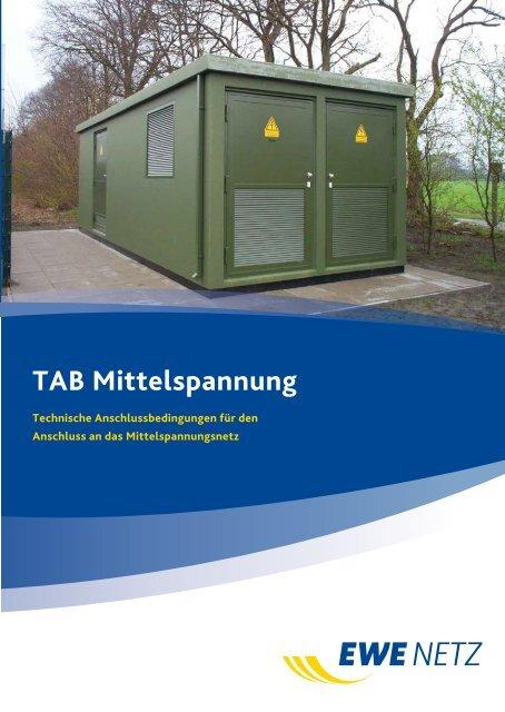 Beliebt Bevorzugt TAB Mittelspannung - EWE NETZ GmbH &TX_83