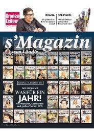s'Magazin usm Ländle, 27. Dezember 2015