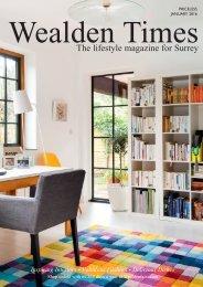 Surrey Homes | SH15 | January 2016 | Health & Beauty supplement inside