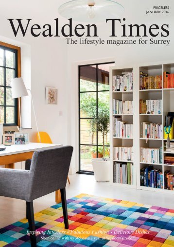 Surrey Homes | SH15 | January 2016 | Health & Beauty supplement inside