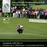 Internationale Amateurmeisterschaft von Deutschland – Damen 6 ...