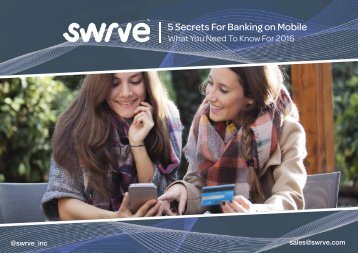 5 Secrets For Banking on Mobile