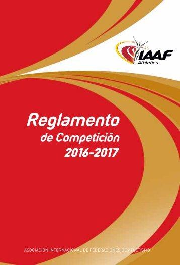 REGLAMENTO COMPETICIÓN 2016 - 2017