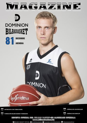 DOMINION BILBAO BASKET MAGAZINE 81