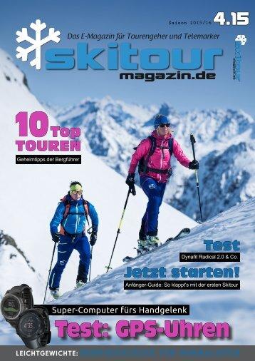 Skitour-Magazin 4.15