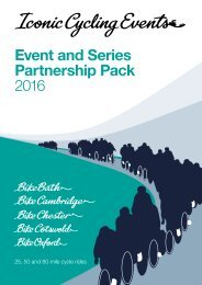 Event and Series Partnership Pack 2016