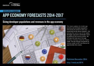 App Economy Forecasts 2014-2017