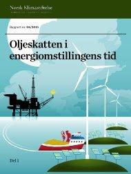 Oljeskatten i energiomstillingens tid