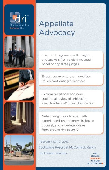 Appellate Advocacy nontraditional