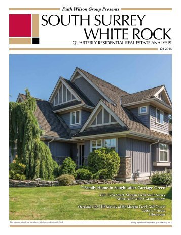 SOUTH SURREY WHITE ROCK