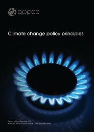 Climate change policy principles