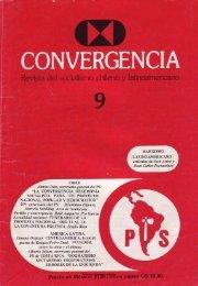 Convergencia N° 9 - Salvador Allende