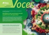 Manifiesto del movimiento social español de la discapacidad