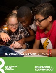 EDUCATION YEAR IN REVIEW • 2014-2015