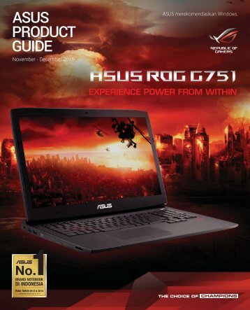 ASUS PRODUCT GUIDE