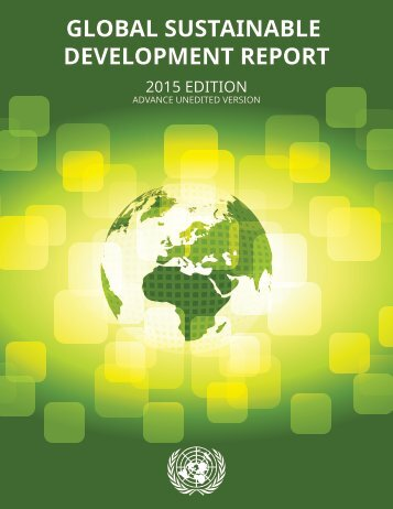 GLOBAL SUSTAINABLE DEVELOPMENT REPORT