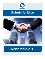 Boletín Jurídico Noviembre 2015