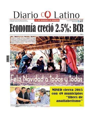 Edición 24 de Diciembre de 2015