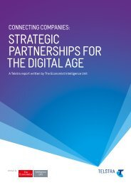 STRATEGIC PARTNERSHIPS FOR THE DIGITAL AGE