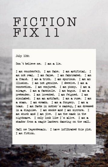Fiction Fix Eleven