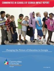 Communities In Schools of Georgia Impact Report
